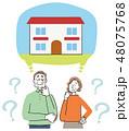高齢者 シニア 老夫婦 住宅 48075768