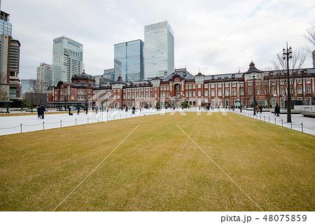 都市風景 東京駅周辺 48075859