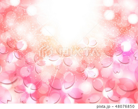 桜 春 花 背景  48076850