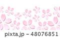 桜 桜の花 春のイラスト 48076851