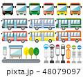 バス 自動車 観光バス 市営バス 48079097
