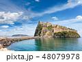 Aragonese Castle, Ischia island, Italy. 48079978