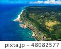 《ハワイ》オアフ島北部・ノースショアの海岸線 48082577