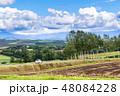 北海道 美瑛 丘の写真 48084228