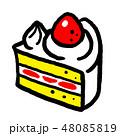 ショートケーキ 48085819