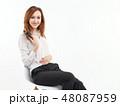 女 女の人 女性の写真 48087959