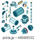 産業 部品 スペアのイラスト 48089532