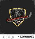 シンボルマーク ロゴ ビンテージのイラスト 48090093