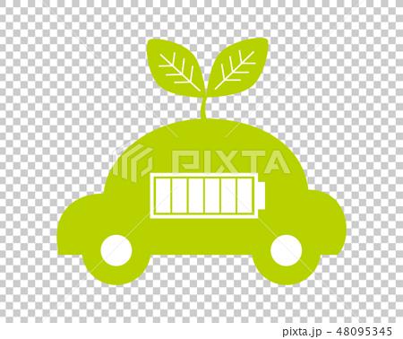 車 自動車 運転 エコカー 48095345
