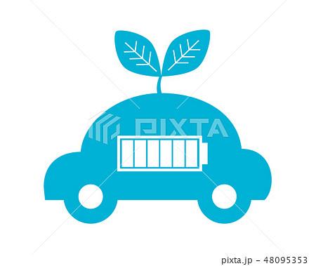 車 自動車 運転 エコカー 48095353