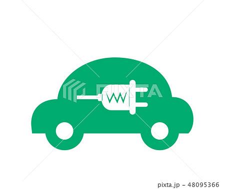車 自動車 運転 エコカー 48095366
