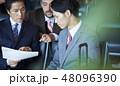 人物 ビジネスマン 会社員の写真 48096390