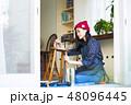 女性 1人 アジア人の写真 48096445