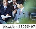 人物 ビジネスマン ビジネスの写真 48096497