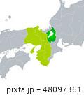 滋賀県地図と関西地方 48097361