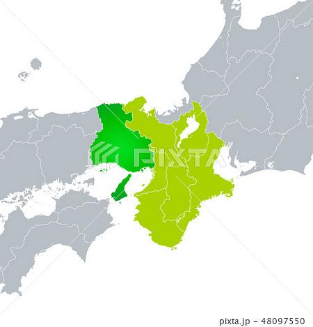 兵庫県地図と近畿地方 48097550