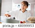 キッチン シェフ 人物の写真 48099953