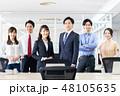 オフィス ビジネスマン ビジネスの写真 48105635