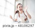 女性 ライフスタイル クッキング 48106297