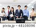 オフィス ビジネスマン ビジネスの写真 48108096