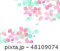 桜 テクスチャー 模様のイラスト 48109074