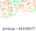 桜 テクスチャー 模様のイラスト 48109077