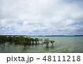 宮古島の海 海 南国の海 沖縄の海 宮古島 沖縄 離島 リゾート 旅行  48111218