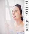 女性 若い女性 人物の写真 48111481