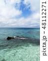 宮古島の海 海 南国の海 沖縄の海 宮古島 沖縄 離島 リゾート 旅行  48112271