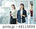 ビジネス 女性 オフィスの写真 48113609