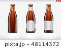 モックアップ ビール びんのイラスト 48114372