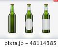 モックアップ ビール びんのイラスト 48114385
