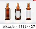 ビール びん ビンのイラスト 48114427