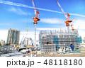 建設現場 建設 建築現場の写真 48118180