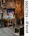 画家 絵描き 画伯の写真 48123066