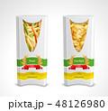 パスタ 写実的 現実的のイラスト 48126980