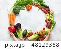 サラダ サラダ 野菜の写真 48129388