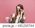 若い 若 女性の写真 48130744