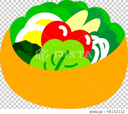 野菜サラダ 48132112