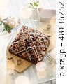 チョコレートブラウニー 48136252