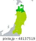 ベクター 青森県地図 青森県のイラスト 48137519