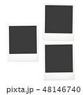 フレーム 写真 ポラロイドのイラスト 48146740
