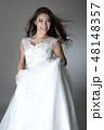 女性 女の人 ドレスの写真 48148357