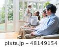 家族 ファミリー 三世代の写真 48149154