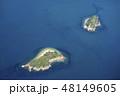 海 ビーチ 空撮の写真 48149605