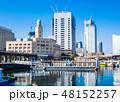 都市 港 ビルの写真 48152257