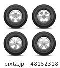 ホイール 車輪 輪のイラスト 48152318