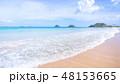 砂浜 ビーチ 空の写真 48153665