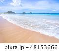 砂浜 ビーチ 空の写真 48153666