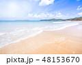 砂浜 ビーチ 空の写真 48153670